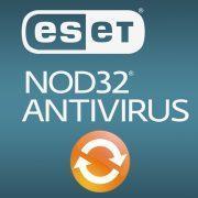 Как обновить антивирус eset nod32