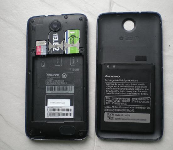 Lenovo A526 SP Flash Tool подключение с извлеченной батареей