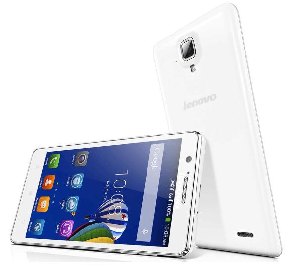 Lenovo A536 белого цвета