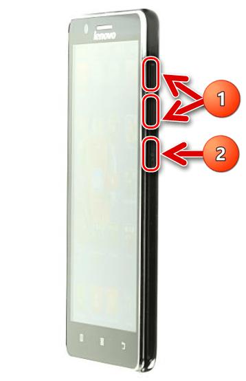 Lenovo A536 загрузка в рекавери