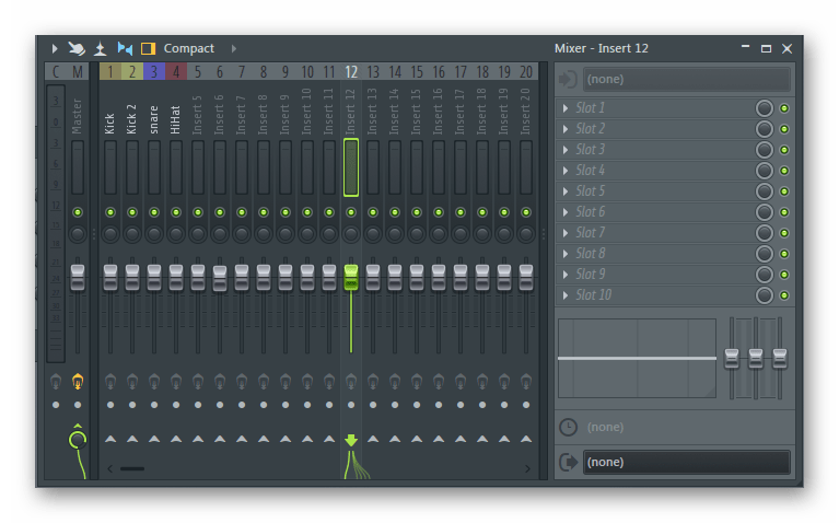 Микшер FL Studio