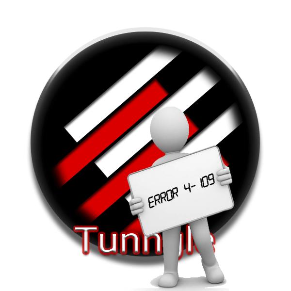 Ошибка 4-109 в Tunngle