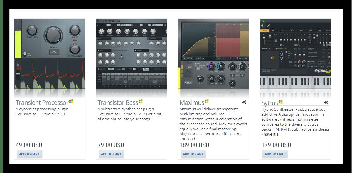 Поиск плагина для FL Studio