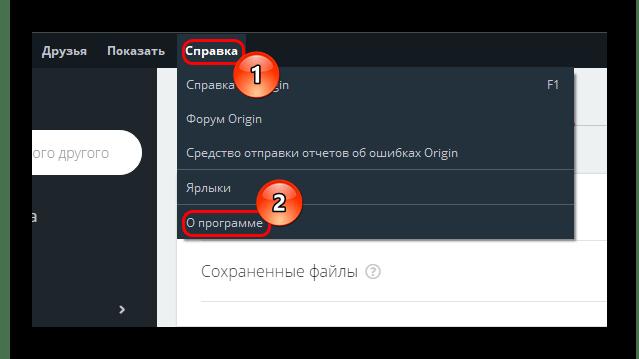 Получение информации о версии клиента Origin