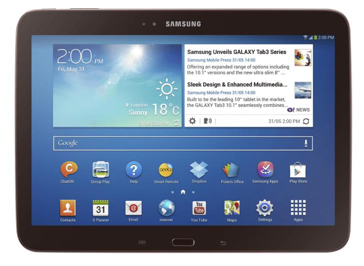 Samsung Galaxy Tab 3 GT-P5200 после прошивки через Odin