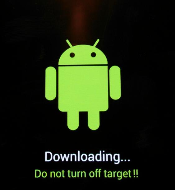 Samsung Galaxy Tab 3 GT-P5200 в odin-режиме