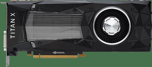 Видеокарта девятисотой серии Nvidia GTX Titan X
