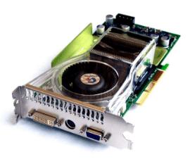 Видеокарта поколения 5 FX Nvidia GeForce FX 5950 Ultra
