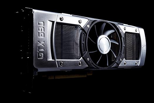 Видеокарта шестисотой серии Nvidia GTX 690