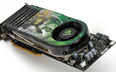 Видеокарта восьмой линейки Nvidia GeForce 8800 GTX