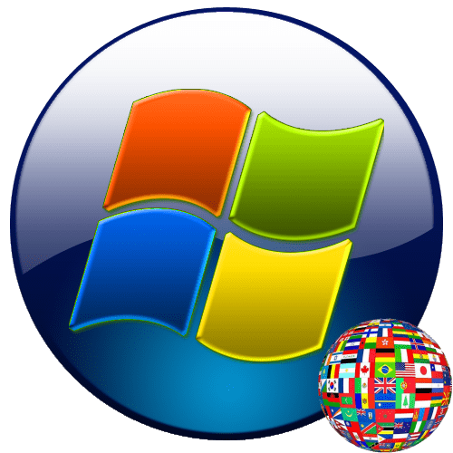 Языковая панель в Windows 7