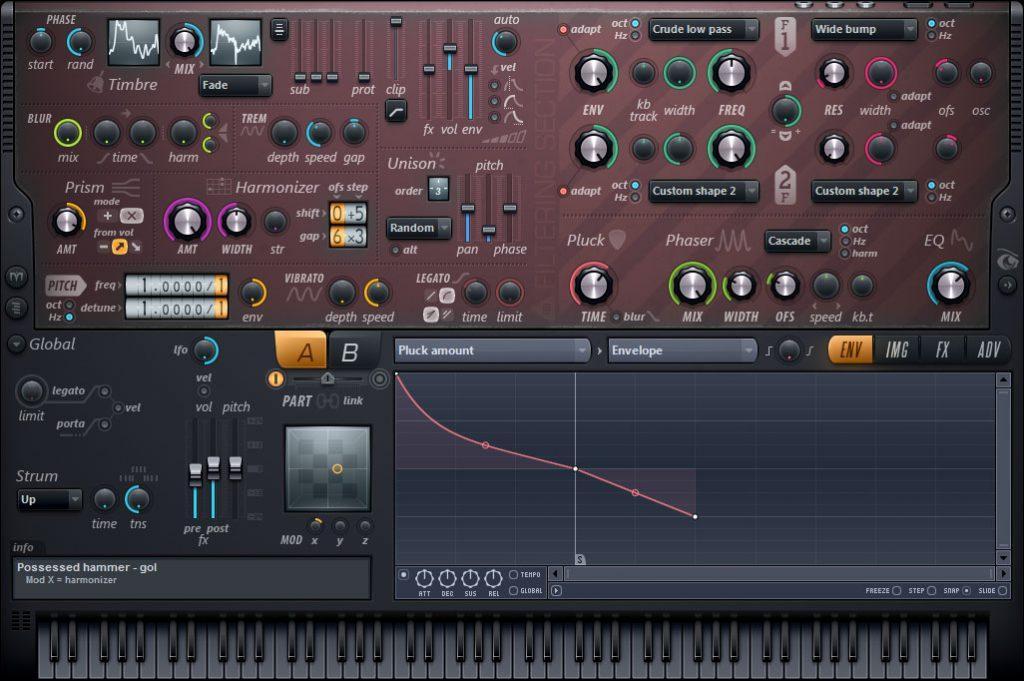 harmor fl studio