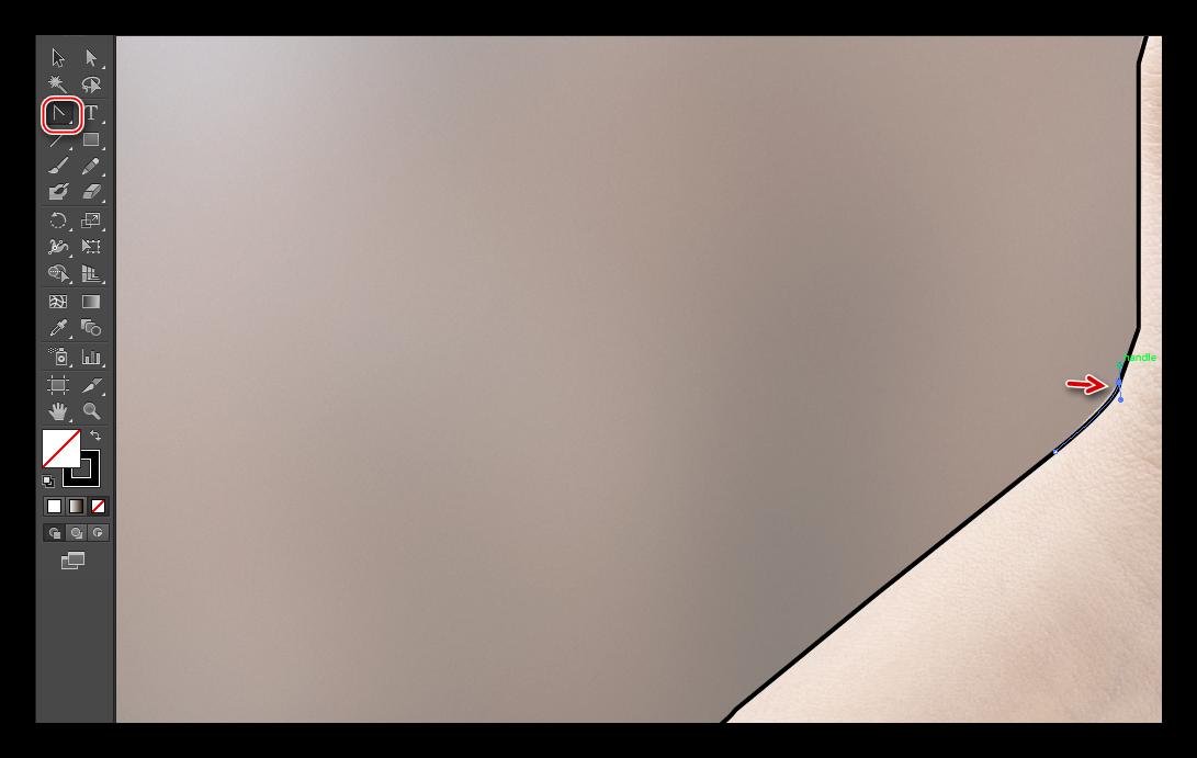 Округление краёв в Illustrator