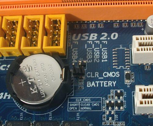 CMOS-батарея