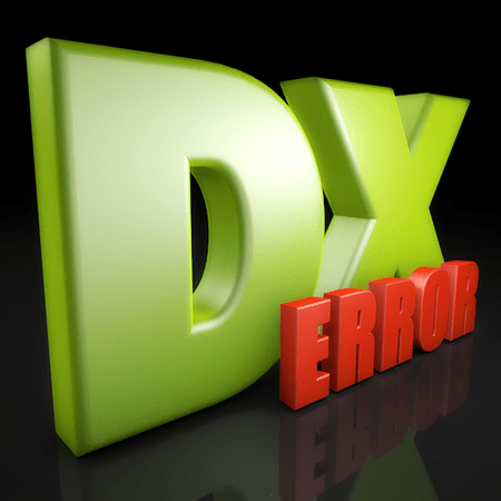 DirectX Setup Error An internal error occurred