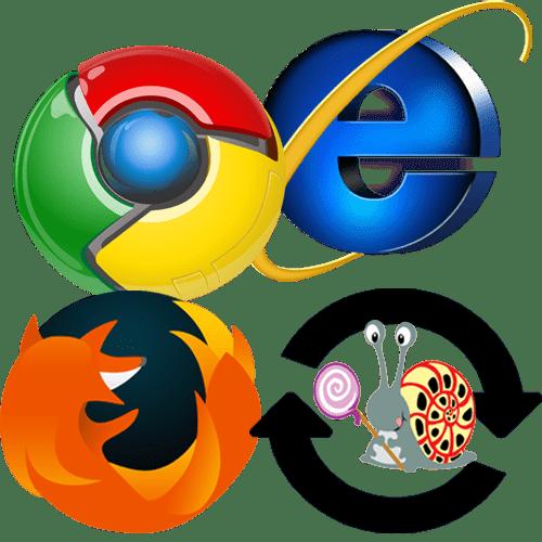 Долго загружаются страницы в браузере