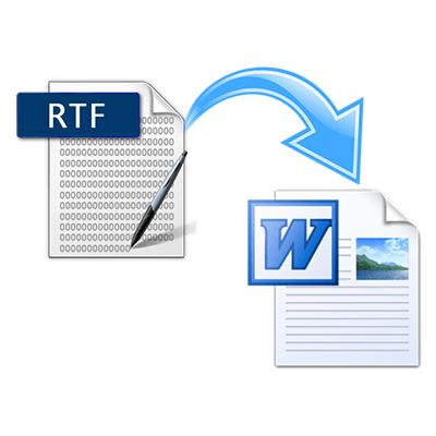 Как перевести RTF в DOC