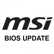 Обновляем BIOS на MSI