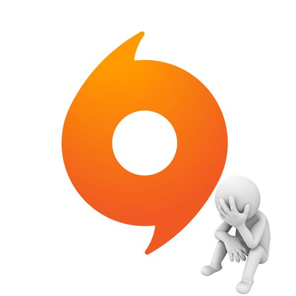 Ошибка Клиент Origin не запущен