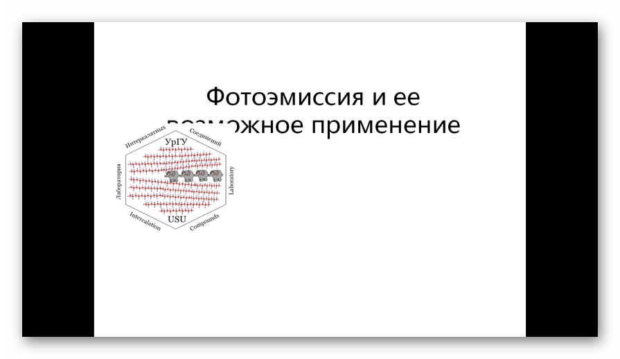 Презентация PPT открыта в программе PowerPoint Viewer