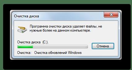 Процедура очистки диска в Windows 7