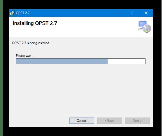 QFIL для Redmi 3S прогресс установки QPST