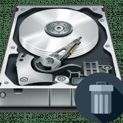 Удаление удаленных файлов с жесткого диска