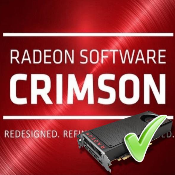 Установка драйверов через AMD Radeon Software Crimson