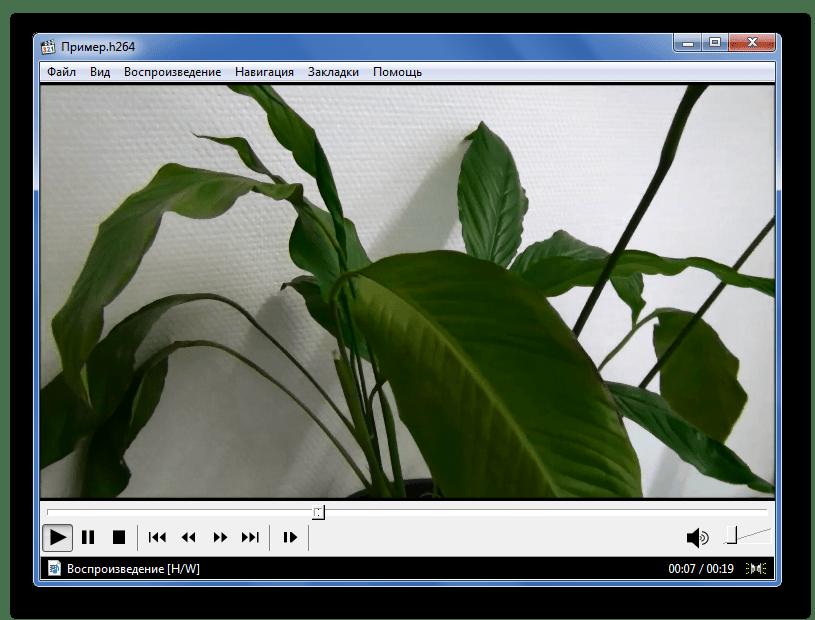 Воспроизведение H.264 в Media Player Classic