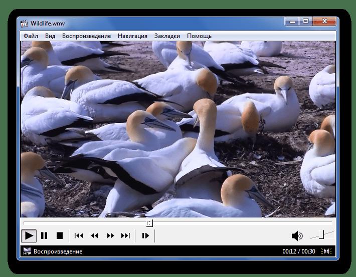 Воспроизведение WMV в Media Player Classic