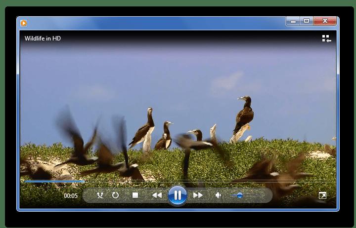 Воспроизведение WMV в Windows Media Player