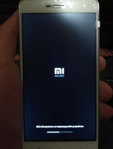 Xiaomi Redmi 3S прошивка через три точки процесс установки