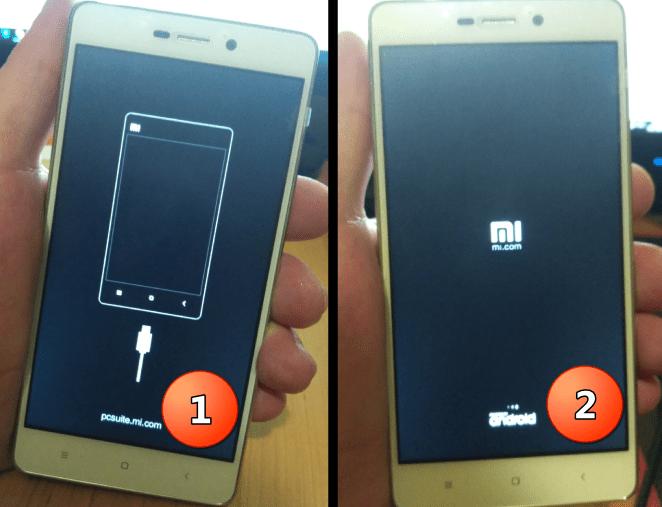 Xiaomi Redmi 3S загрузка после прошивки через