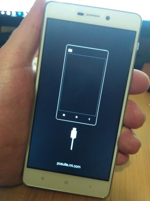 Xiaomi Redmi 3S заводское рекавери экран девайса