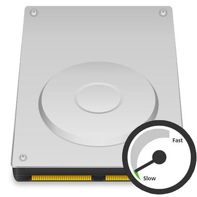 Жесткий диск медленно работает