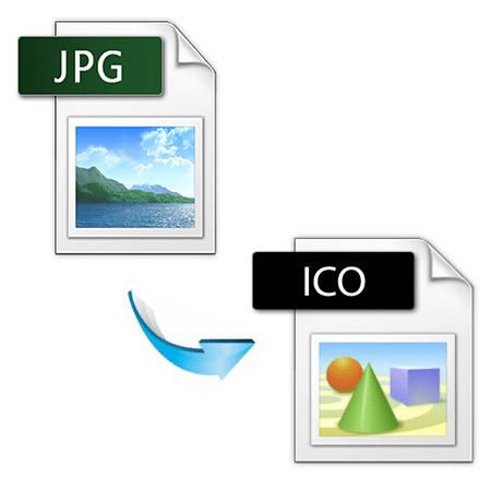 как конвертировать jpg в ico