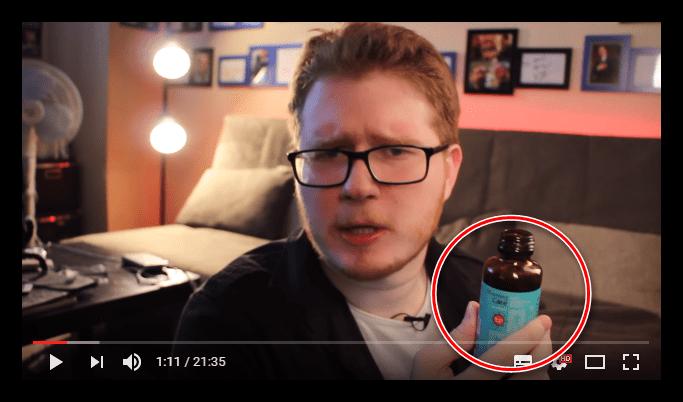 продакт-плейсмент в видео на ютубе