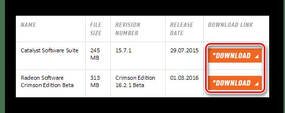 AMD Скачивание драйверов с официального сайта