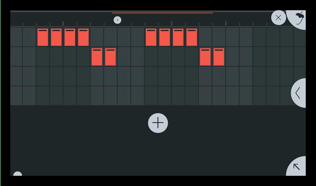 Доабвление нот FL Studio Mobile
