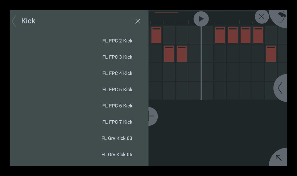 Добавление своего сэмпла FL Studio Mobile