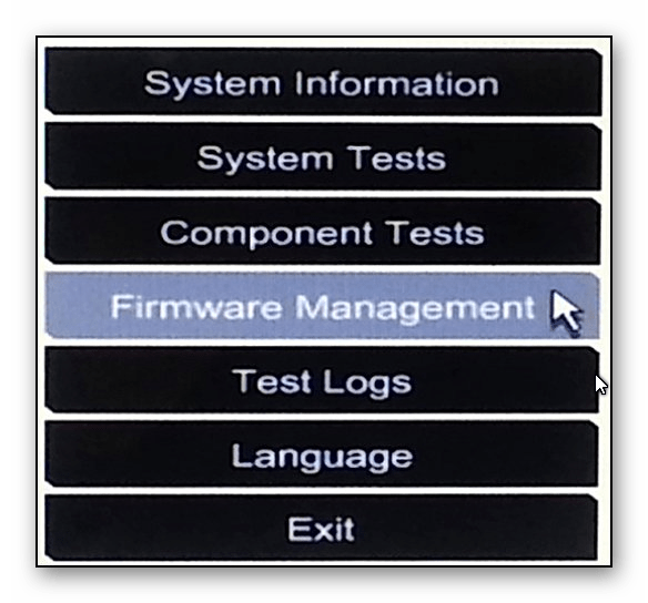 Firmware management