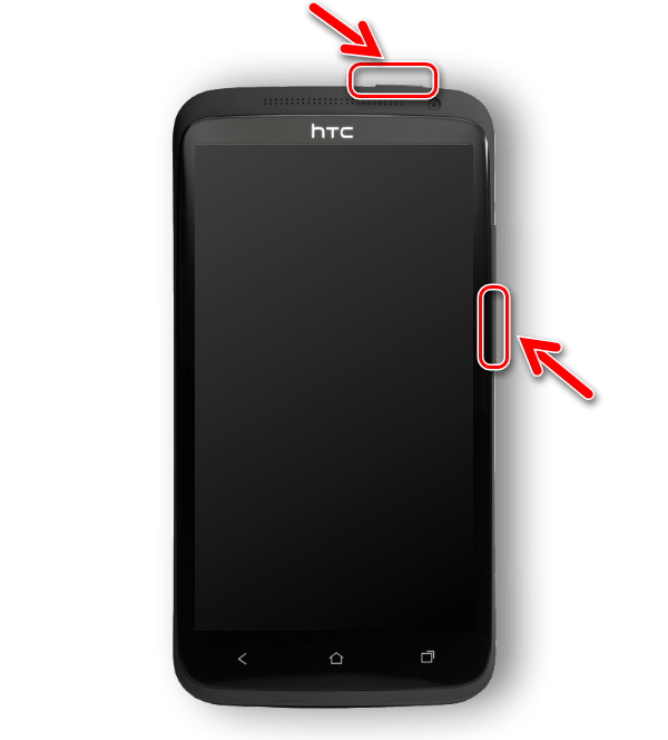HTC One X (S720e) запуск Бутлоадер
