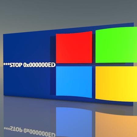 Как исправить ошибку «Stop 0x000000ED» при загрузке Windows XP