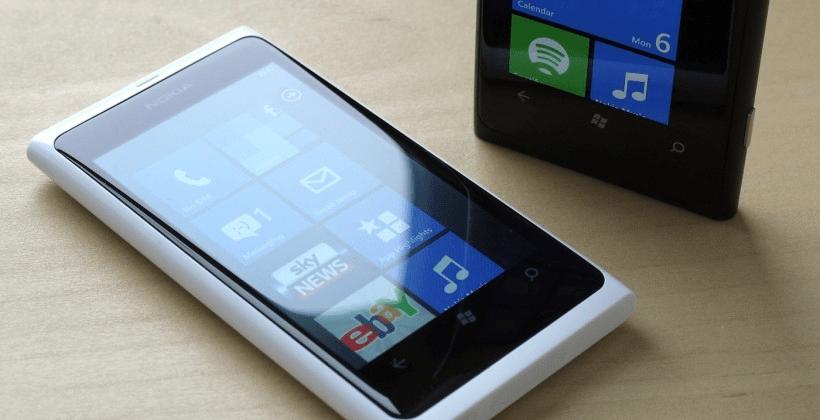 Nokia Lumia 800 RM-801 подготовка к прошивке