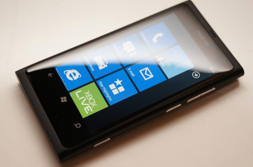 Nokia Lumia 800 RM-801 выход из режима OSBL