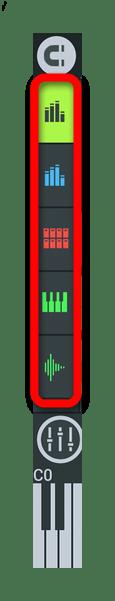 Отдельные цвета инструментов FL Studio Mobile