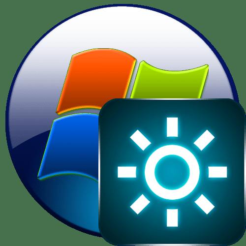 Яркость монитора в Windows 7