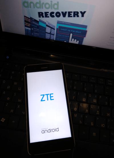 ZTE Blade A510 долго загружается после прошивки
