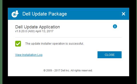 Закрытие маленького окна Dell Inspiron 3521