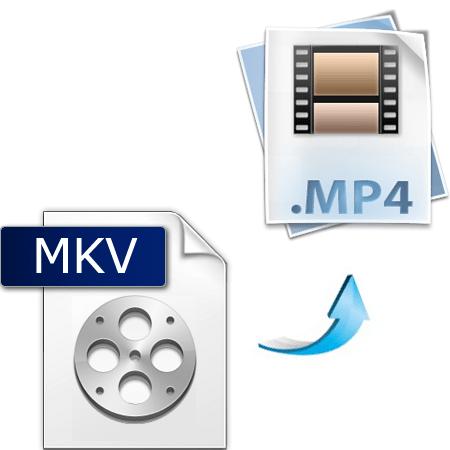 как конвертировать mkv в mp4